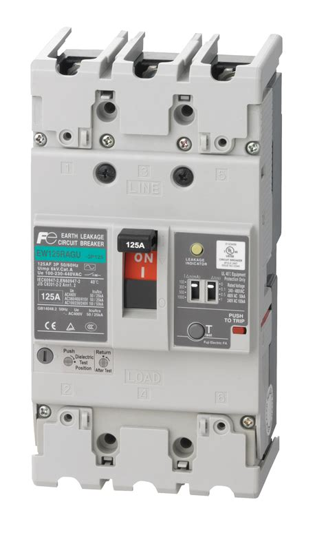 wiring diagram of earth leakage circuit breaker