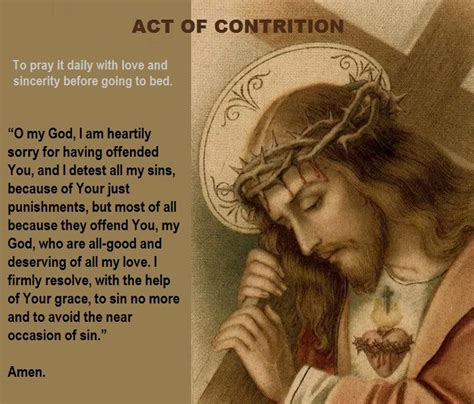 catholicityblog act of contrition to pray every