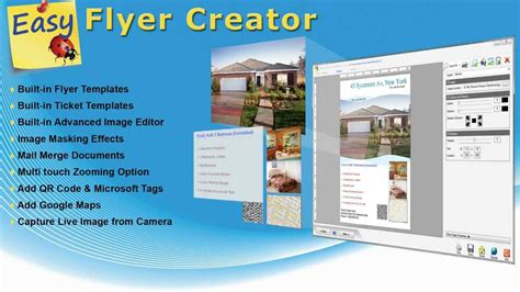 flyer design software online easy flyer creator 3 0 presentation youtube