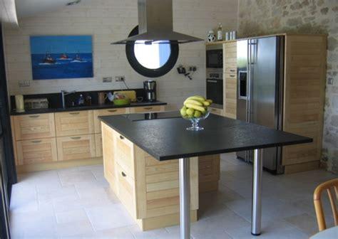 photo de cuisine am駻icaine cuisine bois sur mesure wraste com