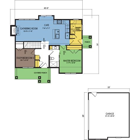 puckaway floor plan 2 beds 1 bath 1005 sq ft wausau homes