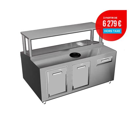 Banc Refrigere by Banc 224 Coquillage 224 Prix Mod 233 R 233 Meublinox