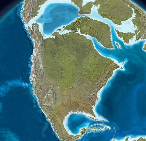 map of america 12000 years ago fossil ecosystems of america the morrison formation