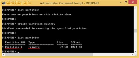 format vhd diskpart การสร าง virtual hard disk บน windows 8 1 ด วย diskpart