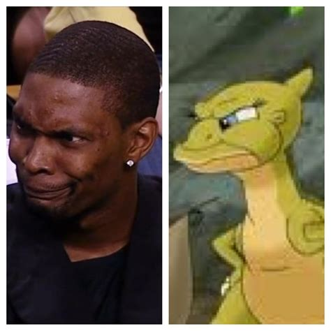 Chris Bosh Dinosaur Meme - web s best chris bosh resembles a dinosaur memes