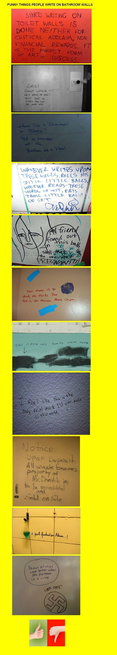 things written on bathroom walls funny things people write on bathroom wallsse writing quvoilht walls is domefor cr