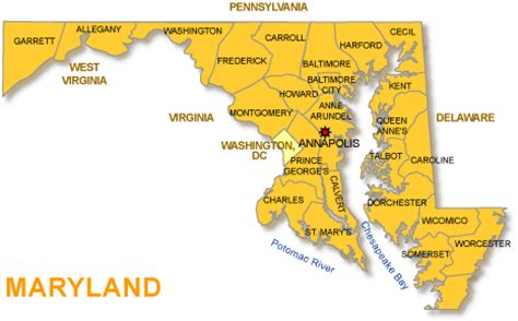 maryland map cities maryland maps and state information