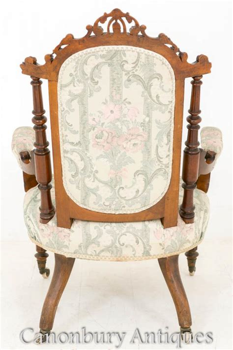 His And Hers Recliners by Pair Walnut Arm Chairs His And Hers Salon Chair 1860