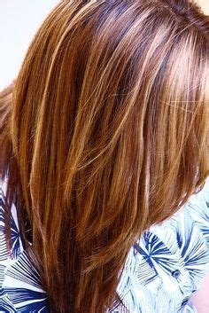 caramel hair color gray coverage best highlights to cover gray hair wow com image