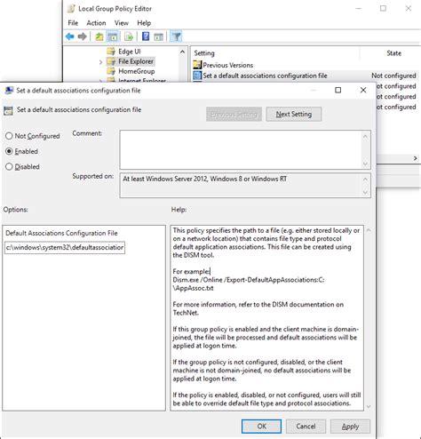 chrome theme export impostare il browser predefinito con criteri di gruppo