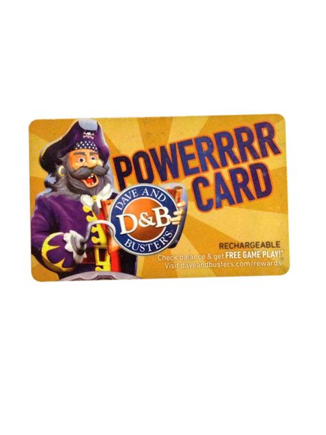 Dave And Busters Gift Cards - dave and buster card ebay