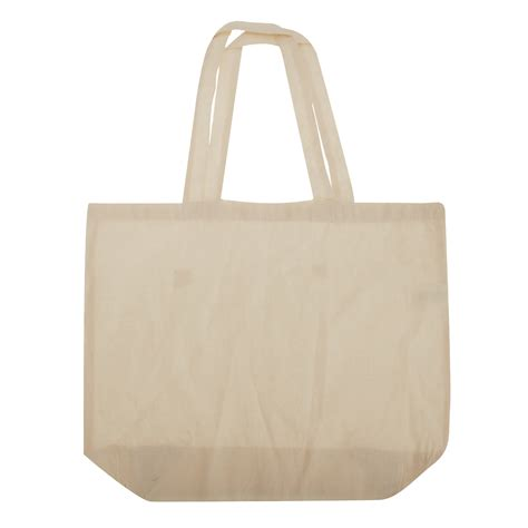 Plain Bag westford mill maxi tote shopper shopping cotton plain bag