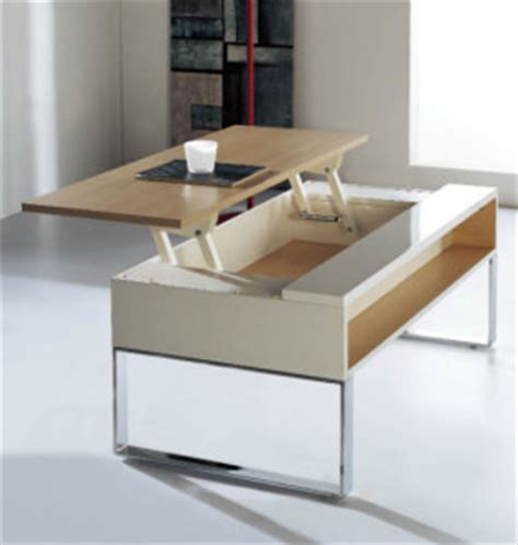 coffee tables that rise up space saving table coffee table transforms into dining