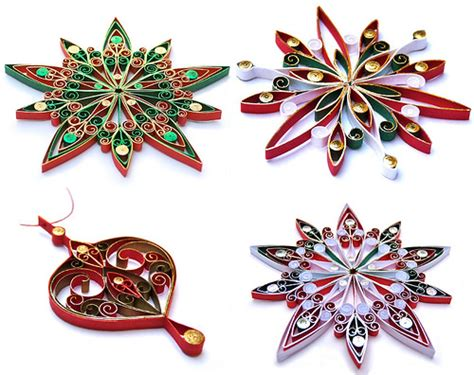 quilling christmas ornament patterns quilled ornaments flickr photo