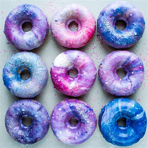 Wallpaper Kitchen Ideas by Galaxy Doughnuts Are The Latest Dessert Craze Great