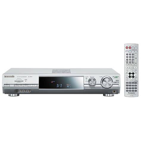 panasonic sa xr70s 6 1 channel surround sound home theater