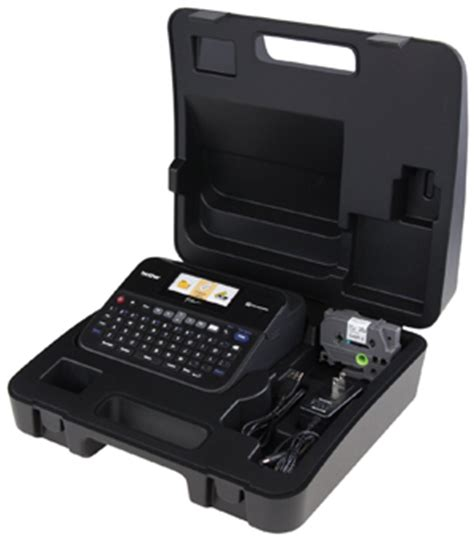 computer case pt in indonesia p touch pt d600vp pc connectable label maker with color display and carry newegg