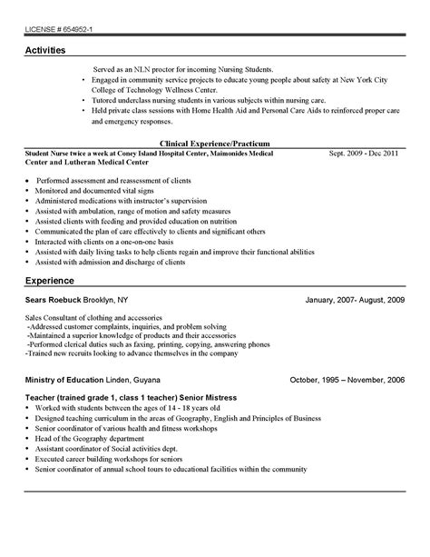 Residency Program Resume Resume Coppin Douglas S Eportfolio