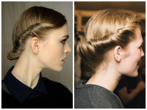 hairstyles that are twisted on one side and curly on the other easy updo ideas for short hair hair world magazine