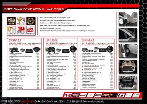 Voucher Competition 3 Way System 1 Power 26 2 Jt innovation car audio