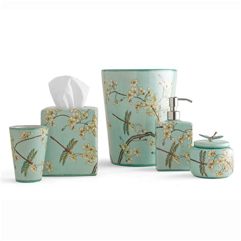 dragonfly bathroom set dragonfly bath accessories gump s