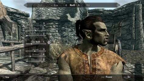 skyrim hot orc mod skyrim celebrity sliders hairstyle gallery