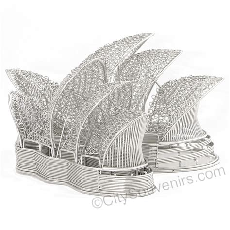 Replika Opera Sdyney Untuk Souvenirs wire sydney opera house model statue steel