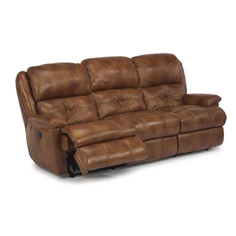 Flexsteel Reclining Leather Sofa by Flexsteel 1226 62p Cruise Leather Power Reclining Sofa