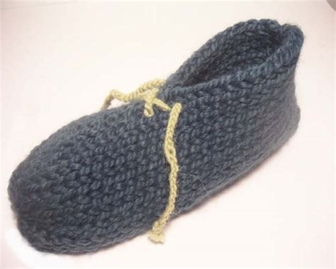 easy crochet slippers free pattern simple slipper project favecrafts