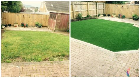 stokesley artificial lawn grass installation lion lawns