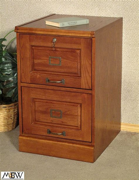 mission style oak two drawer file filing cabinet