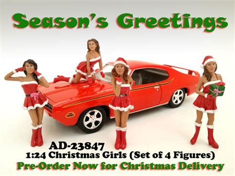 Cars Figure Isi 4 Original 4 pieces figure set for 124 scale diecast model cars by american diorama diecast