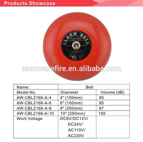 Alarm Bell 6 2016 sale manual alarm bell industrial alarm