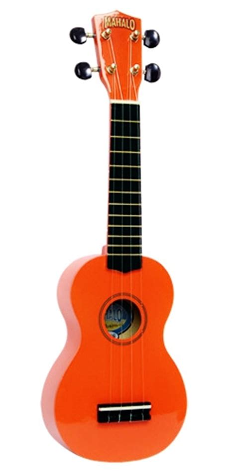 ukulele mahalo bonus suling mahalo u30o orange ukulele with gig bag south