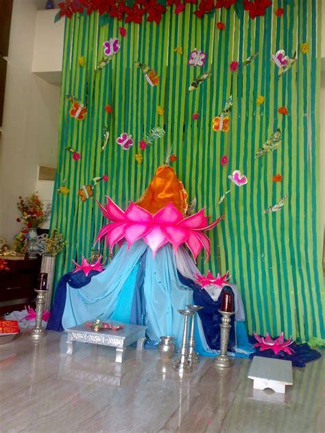 images  ganpati decoration  pinterest