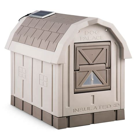 asl insulated dog house dog palace insulated dog house the green head