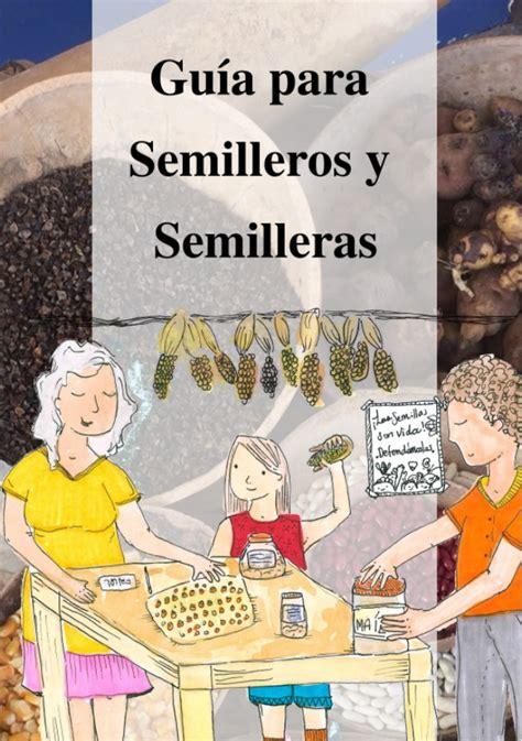 libro gua de bolsillo para libro quot gu 237 a para semilleros y semilleras quot