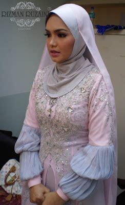 baju diri nurhaliza rizman ruzaini march 2009