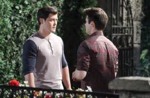 days of our lives dool spoilers chad blamed for paige days of our lives dool spoilers rafe grills ben on chad
