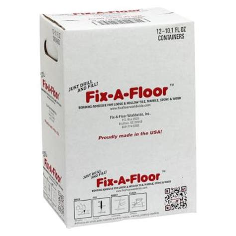 fix a floor 30 oz repair adhesive 12 fix1230 the