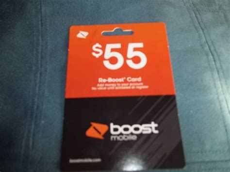 Free Boost Mobile Gift Cards - free 55 boost mobile reboost card with receipt free shipping phones