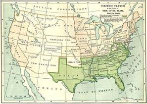 map of united states during civil war prose the civil war in the west part one