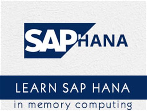 tutorialspoint hana sap hana tutorial