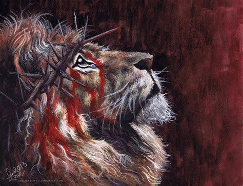 jesus lion tattoo the lion of judah by cmloweart on deviantart