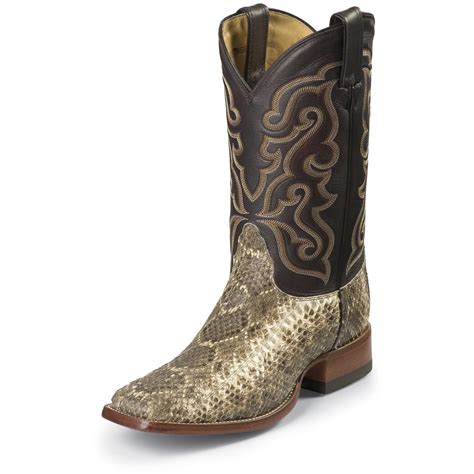 rattlesnake boots nocona 174 s rattlesnake square toe horseman boots