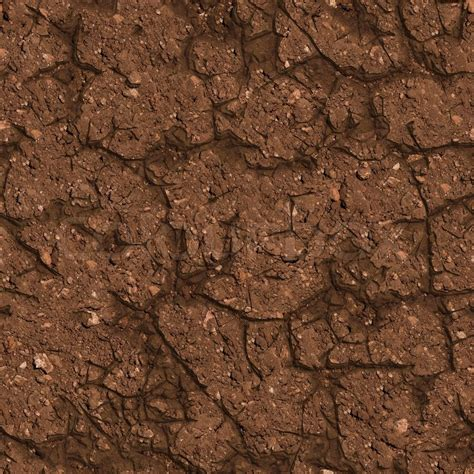 Floor And Decor Jobs by Cracked Brown Soil Seamless Tileable Texture Stock Photo