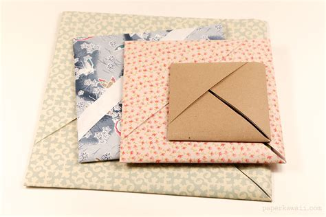 How To Make A Paper Pocket - origami paper storage pocket paper kawaii