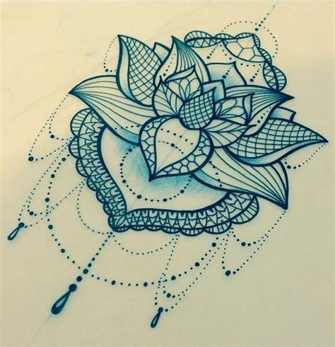 70 best images about lace drape tat on lotus