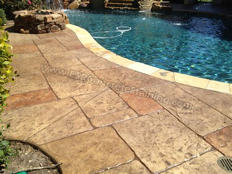 Floors And Decor Dallas by Esr Decorative Concrete Staining Stamped Concrete Epoxy