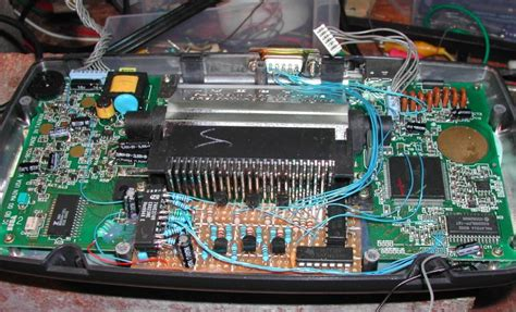 replacing capacitors sega gear view topic gear problem forums sms power